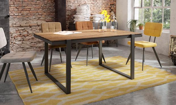 Una opción muy util: mesas extensibles para tu comedor